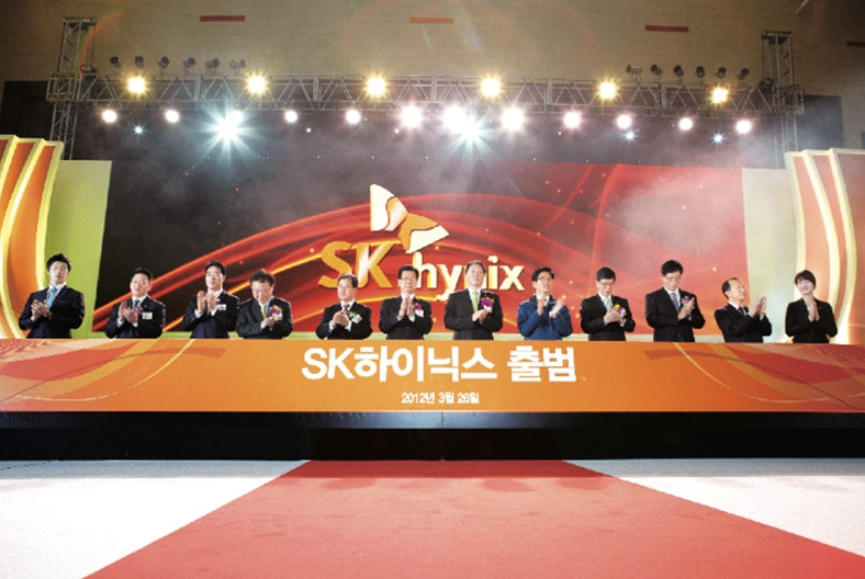 Launching of SK Hynix